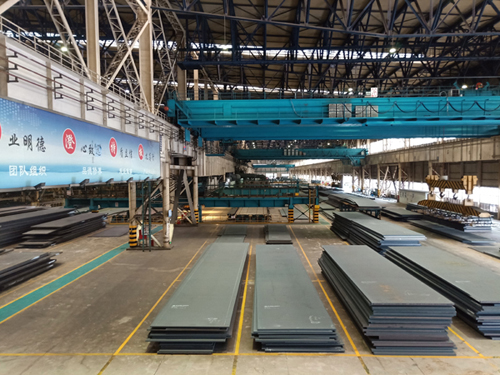 ASME SA588 Grade A low alloy steel plate