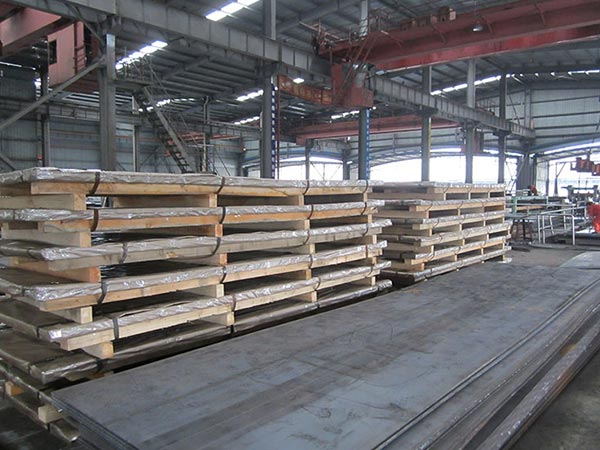 Steel mill inventory of sa 283 gr c mild steel plate price increased