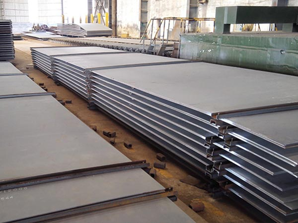 The daily output of A572 Grade 42, SA572 Grade 50 steel reached a new high