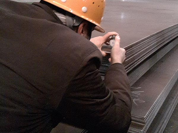 SA573 Grade 70 structural carbon steel sheet specification with 10mm