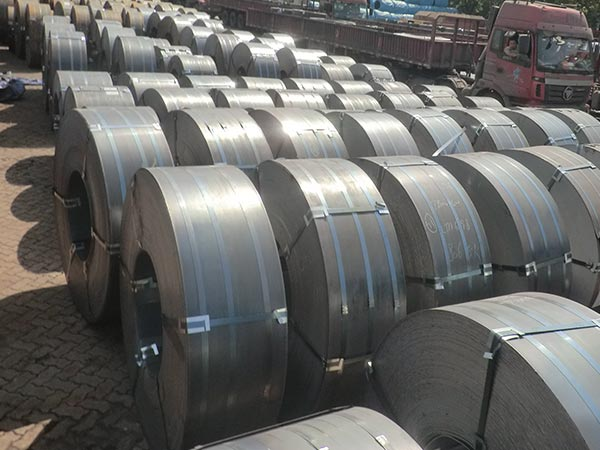 SA283 Gr C structural steel channel, marine plate mill