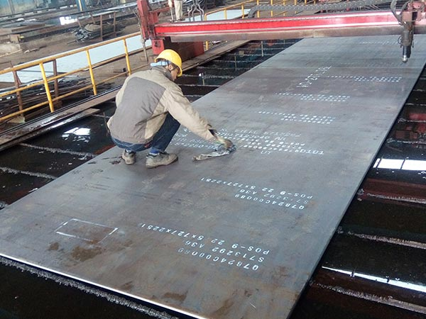 A514 Grade Q astm carbon steel plate customized with 15 thickness range