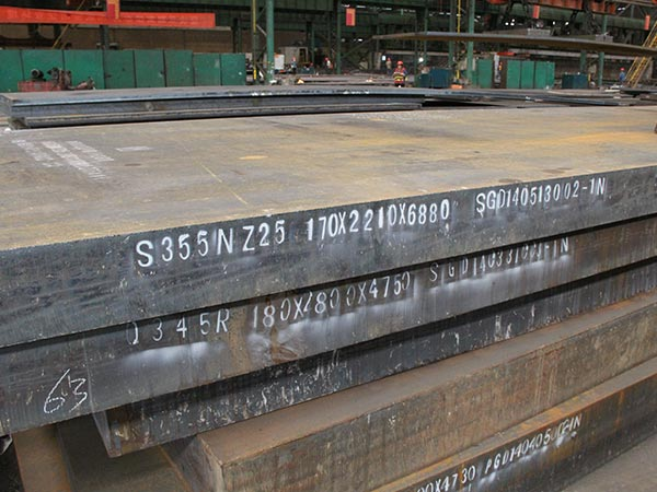 The hot rolling process of sa572 grade 60 low alloy steel sheet