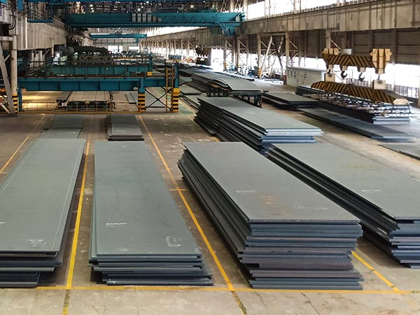 SM490YA, USt37-2,  SA572 hot rolled plate annual output